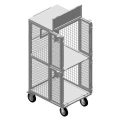 Почтовый контейнер 720х1725х870