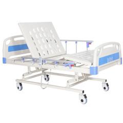 Кровать медицинская 4-секционная с электрическим приводом (перфорированный стальной лист)