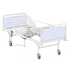 """2-section medical bed with the """"Comb"""" mechanism"""