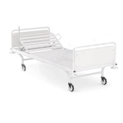 """Ліжко медичне 2-секційне посилене з механізмом """"Гребінка"""", з ламелями, розмір 2100х960х840"""