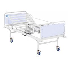 Кровать медицинская 4-секционная усиленная с Червячным механизмом, размер 2100х960х840 ложе ламели