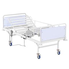 Кровать медицинская 4-секционная с электрическим приводом, спинка ЛДСП