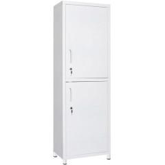 Шкаф для медикаментов металлический (две двери из металла)