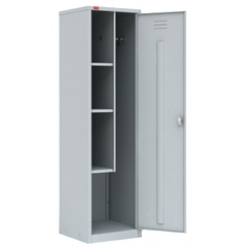 Medical cabinet for inventory, metal, one-door
