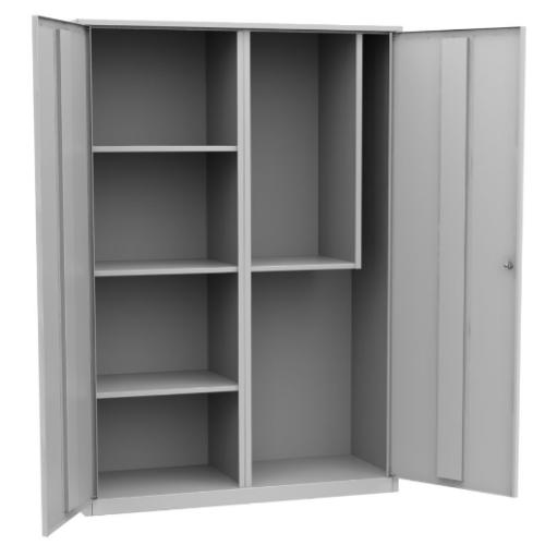 Шкаф инвентарный металлический двухдверный