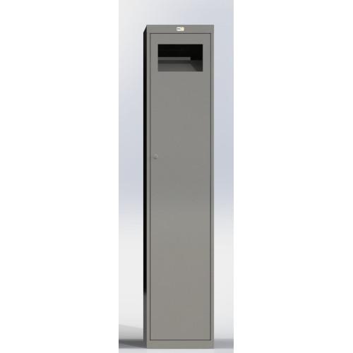 Одежный металлический шкаф Ferocon 2ШБМ-1