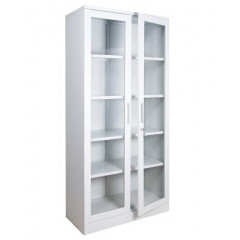 Шкаф для медикаментов  2-х дверный односекционный,  с замком ШМЛ-102, высота 1600
