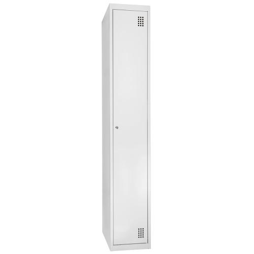 Металлический Шкаф для раздевалок учебных заведений Ferocon ШДРУЗ НО 11-01-03х18х05-Ц-2-7035
