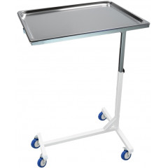Metal assistant table