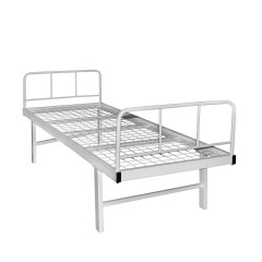 Medical bed 1-section reinforced