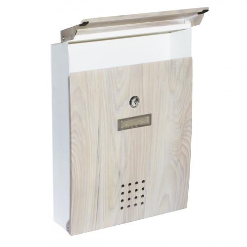 Ящик почтовый бежевый